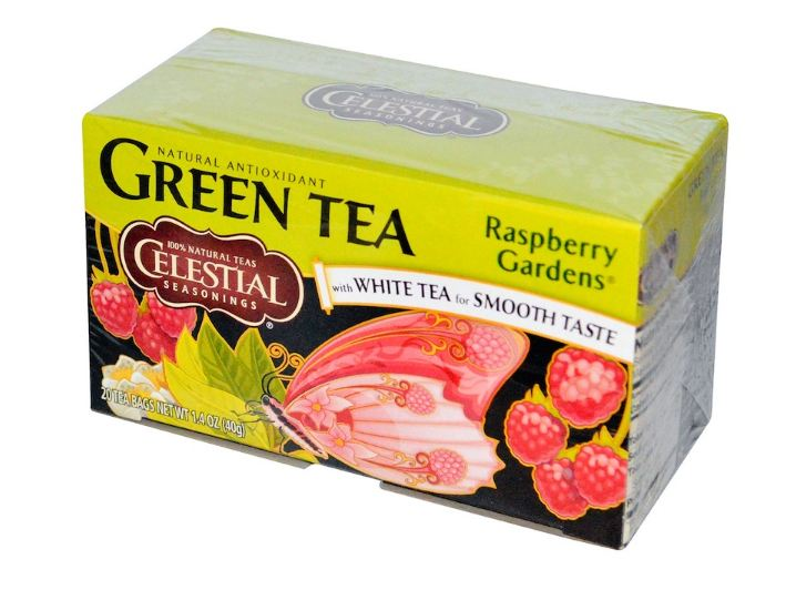 Celestial Seasonings® Green Tea Raspberry Gardens with White Tea