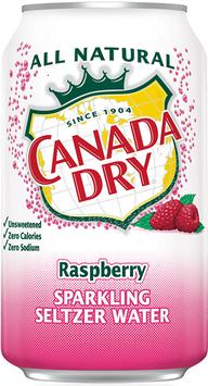 Canada Dry Raspberry Sparkling Seltzer Water