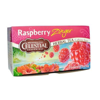 Celestial Seasonings® Raspberry Zinger Herbal Tea Caffeine Free