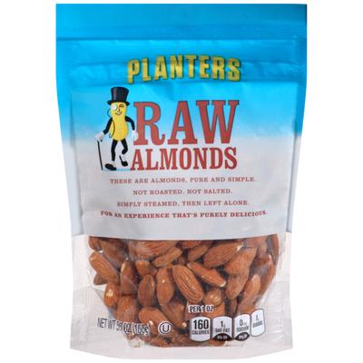 Planters Raw Almonds Bag