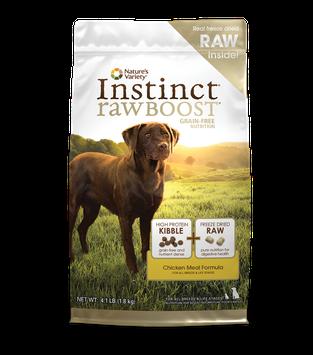 Nature's Variety Instinct Raw Boost Grain Free Dog Food