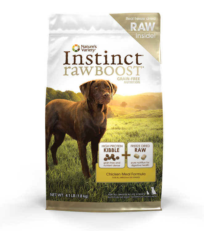 Nature S Variety Raw Instinct Dog Food