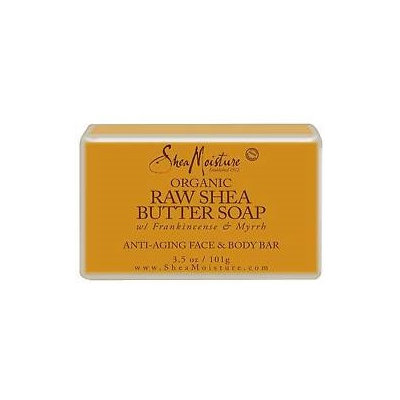 SheaMoisture Raw Shea Butter Facial Bar Soap