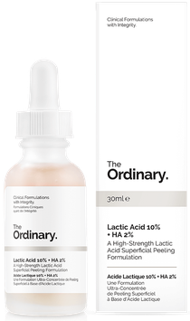 The Ordinary Lactic Acid 10% +HA 2%