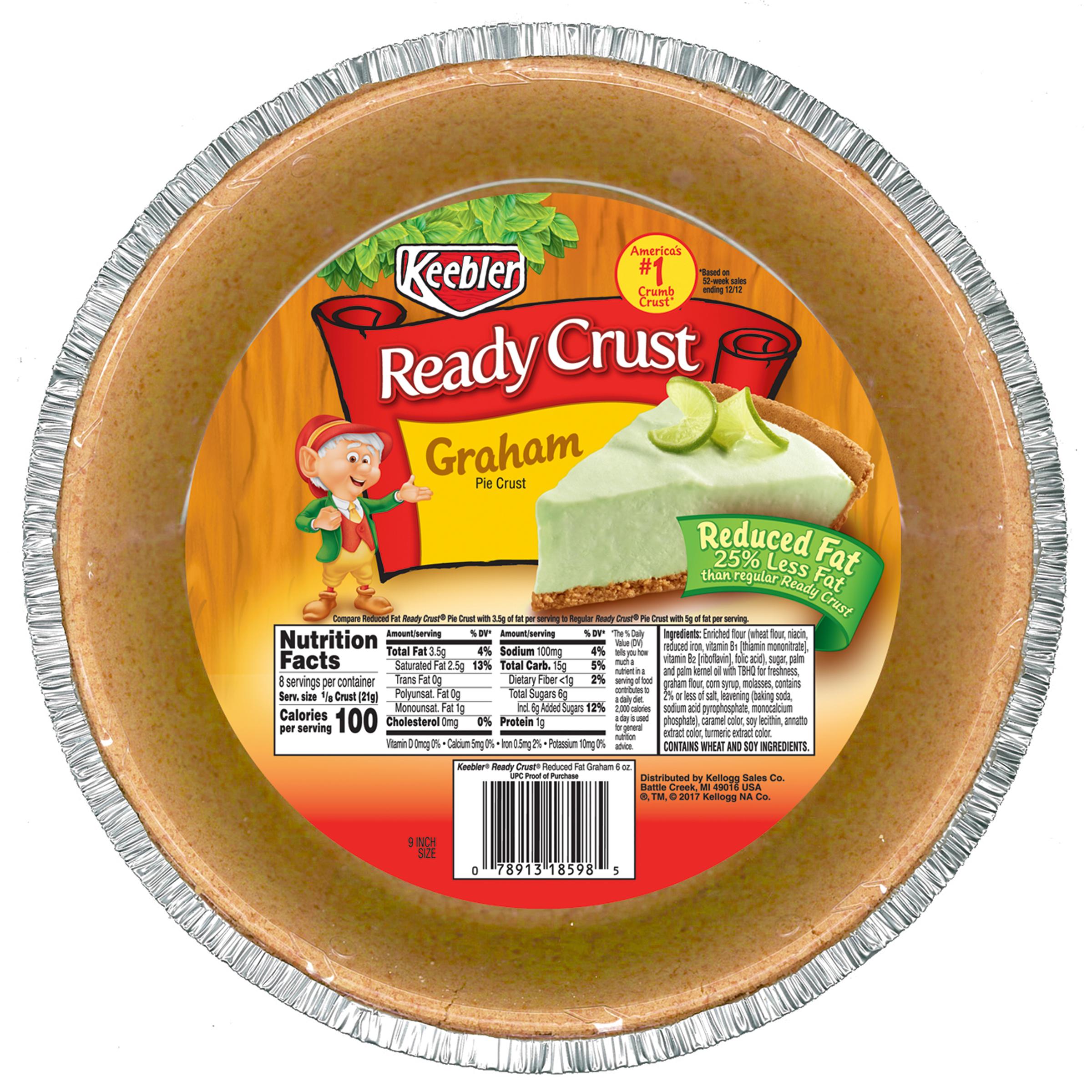 Keebler Ready Crust Reduced Fat Graham Pie Crust