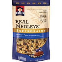 Quaker® Real Medleys Supergrains Granola Blueberry Pecan
