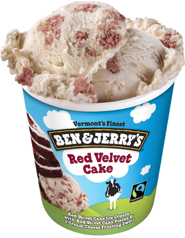 Ben & Jerry's® Red Velvet Cake Ice Cream