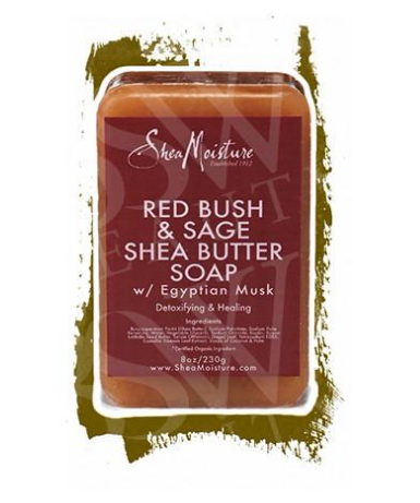 SheaMoisture Red Bush & Sage Shea Butter Soap