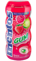 Mentos Red Fruit Lime - Pocket Bottle