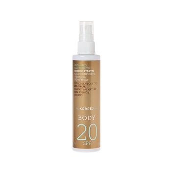 KORRES Red Grape Sunscreen Body Oil SPF 20