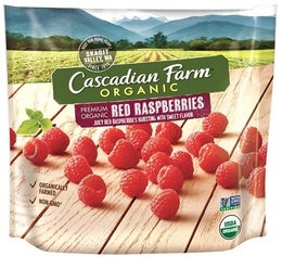 Cascadian Farm Organic Red Raspberries