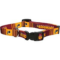 Hunter Washington Redskins NFL Dog Collar