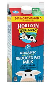 Horizon Reduced Fat Milk