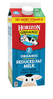 Horizon Reduced Fat Milk