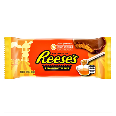 Hershey's Flavour of Georgia - Reese's Honey Roasted 2 Peanut Butter Cups
