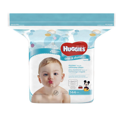Huggies® One & Done® Refreshing Refill Baby Wipes