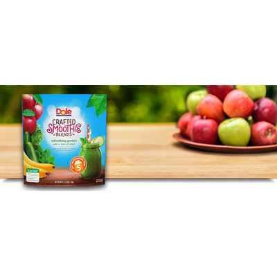 Dole Crafted Smoothie Blends Refreshing Greens with a Hint of Mint
