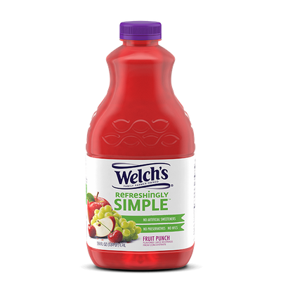 Welch's® Refreshingly Simple Fruit Punch Juice Cocktail