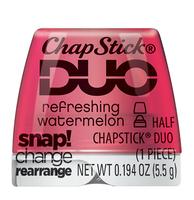 ChapStick® Duo Refreshing Watermelon