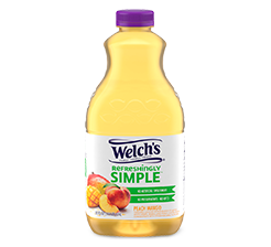 Welch's Refreshingly Simple™ Peach Mango