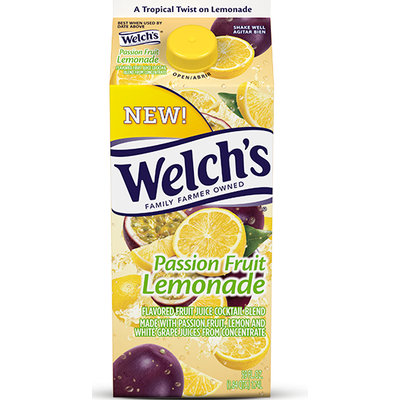 Welch's® Passion Fruit Lemonade Refrigerated Juice Cocktail