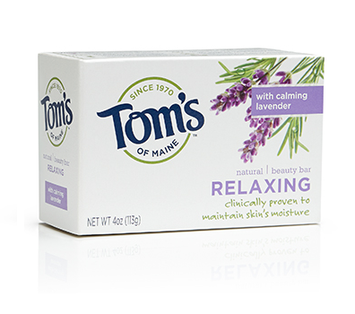 Tom's OF MAINE Natural Beauty Bar Relaxing