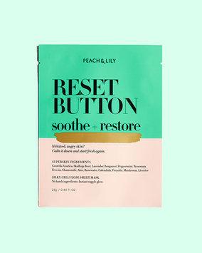 Peach & Lily Reset Button Sheet Mask