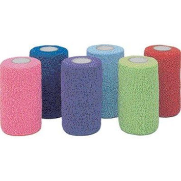 Co-Flex Self Adhesive Bandage 4in x 5yd Assorted Colors - Single Roll