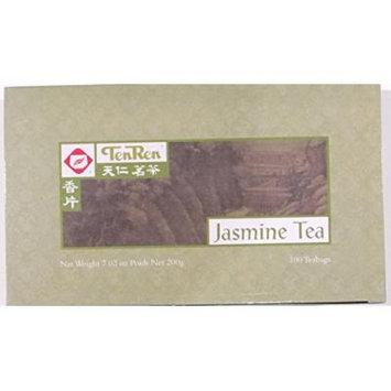 TenRen Jasmine Tea (100 Tea Bags)