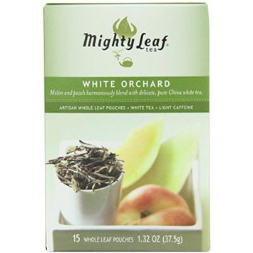 Mighty Leaf Tea, White Orchard--(Pack of 6)