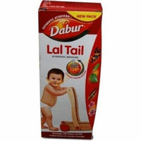 Dabur Lal Tail New Pack Authentic Ayurveda (4 Pack, 200-ML)