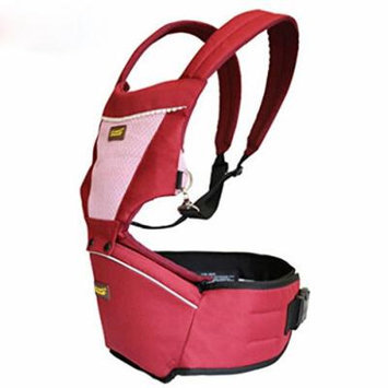 Beddinginn® Multi Functional Comfortable Simple Front Pack Baby Carrier (Red)
