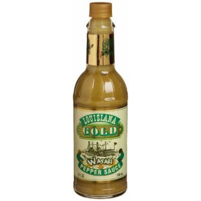 Louisiana Gold Wasabi Pepper Sauce, 5-Ounce
