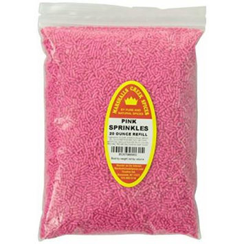 Marshalls Creek Spices Refill Pouch Sprinkles Seasoning, Pink, XL, 20 Ounce