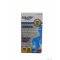 Equate Maximum Strength Acid Reducer Cool Mint Tablets 150mg 65ct Compare to Zantac 150 Cool Mint Tablets