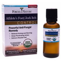 Forces of Nature Athletes Foot and Jock Itch Control, 33 ml