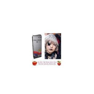 Special Sets : Premium Permanent Hair Color Cream Dye Punk Goth 0/11 Silver Ash Grey Gray