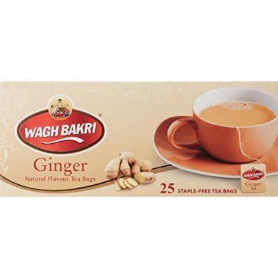 Wagh Bakri Ginger Tea Bags (25 tea bags)