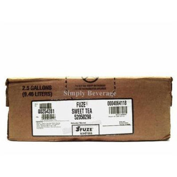 Fuze Sweet Tea Syrup 2.5 Gallon Bag in Box BIB