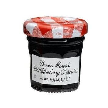 Bonne Maman Blueberry Preserve Mini Jars - 1 Oz X 30 Pcs Kosher