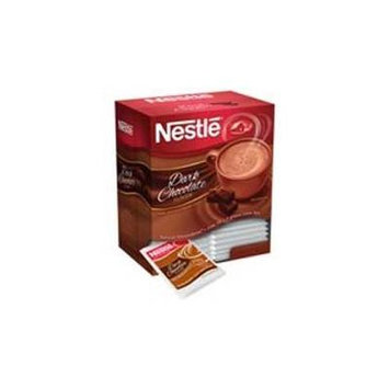 Nestlé Dark Chocolate Hot Cocoa Mix - 50 single serve packets per box, 6 boxes per case