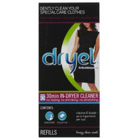 Dryel Cleaning Refill, 6 Count, Breezy Clean Scent (Pack of 2)