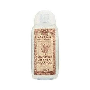 Anti Hair Falling Out, Hair Loss Prevention, Remedies for Hair Growth Natural Shampoo Recipe (Herbal Thai Aloe Vera) 200ml.