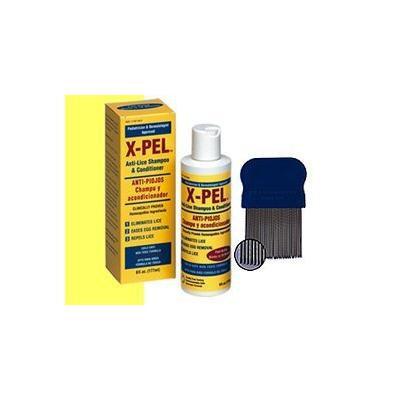 X-PEL ANTI-LICE SHAMPOO&CONDITIONER 6 OZ (PACK OF 2)