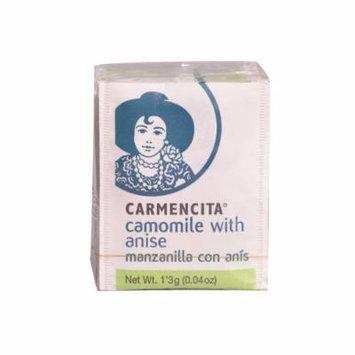 Carmencita Chamomile with Anise Teas 10 Tea Bags