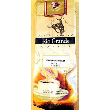 Rio Grande Coffee - Whole Bean - Espresso Roast - 1 Pound