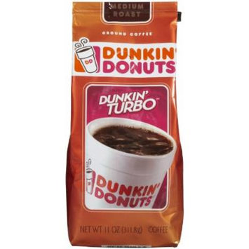 Dunkin Donuts Dunkin Donuts Coffee Ground Turbo - 11 oz
