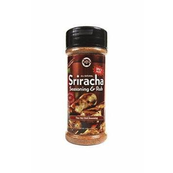 J&D's Sriracha Rub, 4.25 Ounce