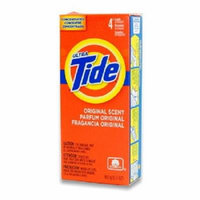 TIDE ULTRA LAUNDRY DETERGENT 4 Loads - ORIGINAL SCENT 5.7 oz