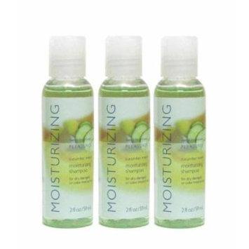 Bath & Body Works Pleasures Moisturizing Shampoo - Travel Size - Cucumber Melon (3 Pack)